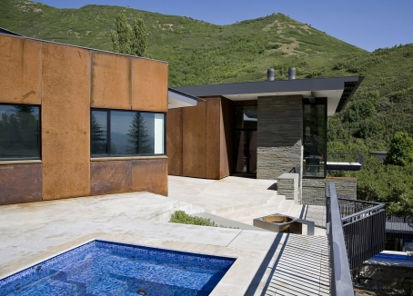 Prescott muir architects east canyon residence for Prescott architects